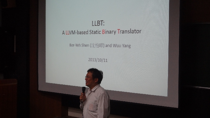 A LLVM‐based Static Binary Translator