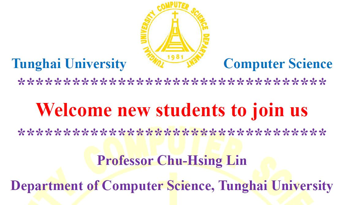 Welcome new students to join us